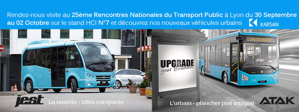 Le groupe RATP aux Rencontres nationales du transport public